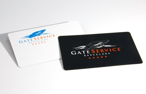 Targetas de presentación de GateService - Impremaspe