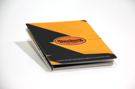 Desplegable Docker catálogos Impremaspe